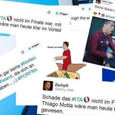 So reagierte die Twitter-Gemeinde auf das EM-Finale.