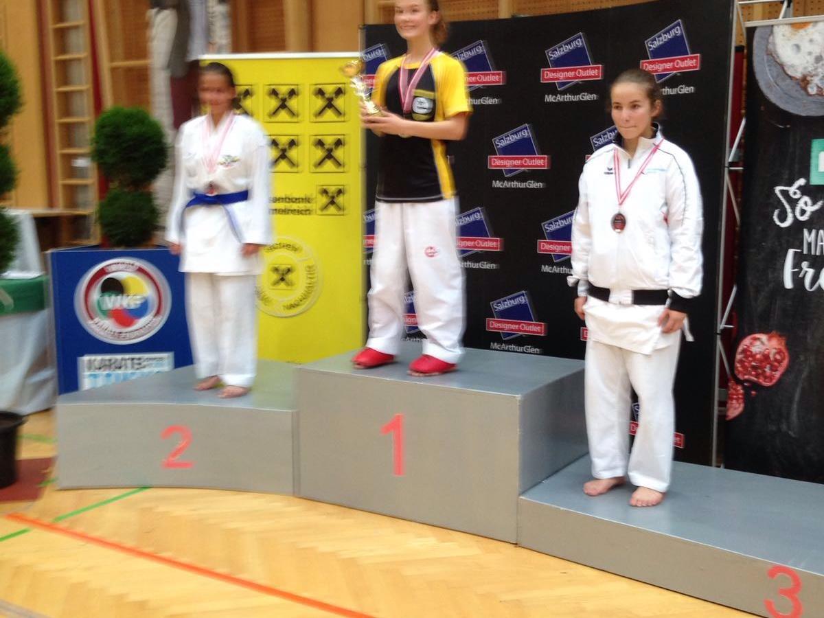 Siegerehrung 3. Rang Sara Savic