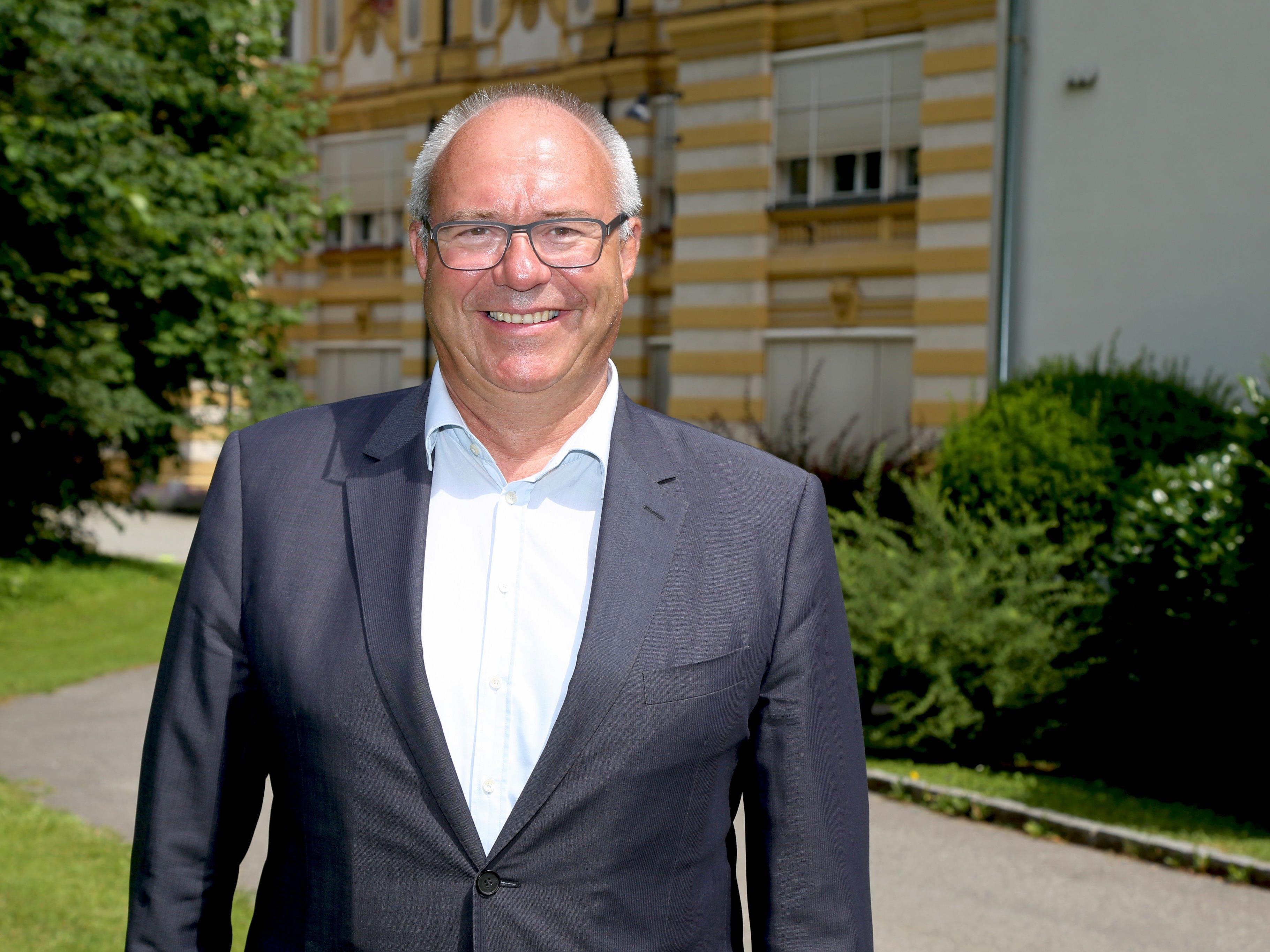 Thomas Schärrer ist seit 2010 Bürgermeister.