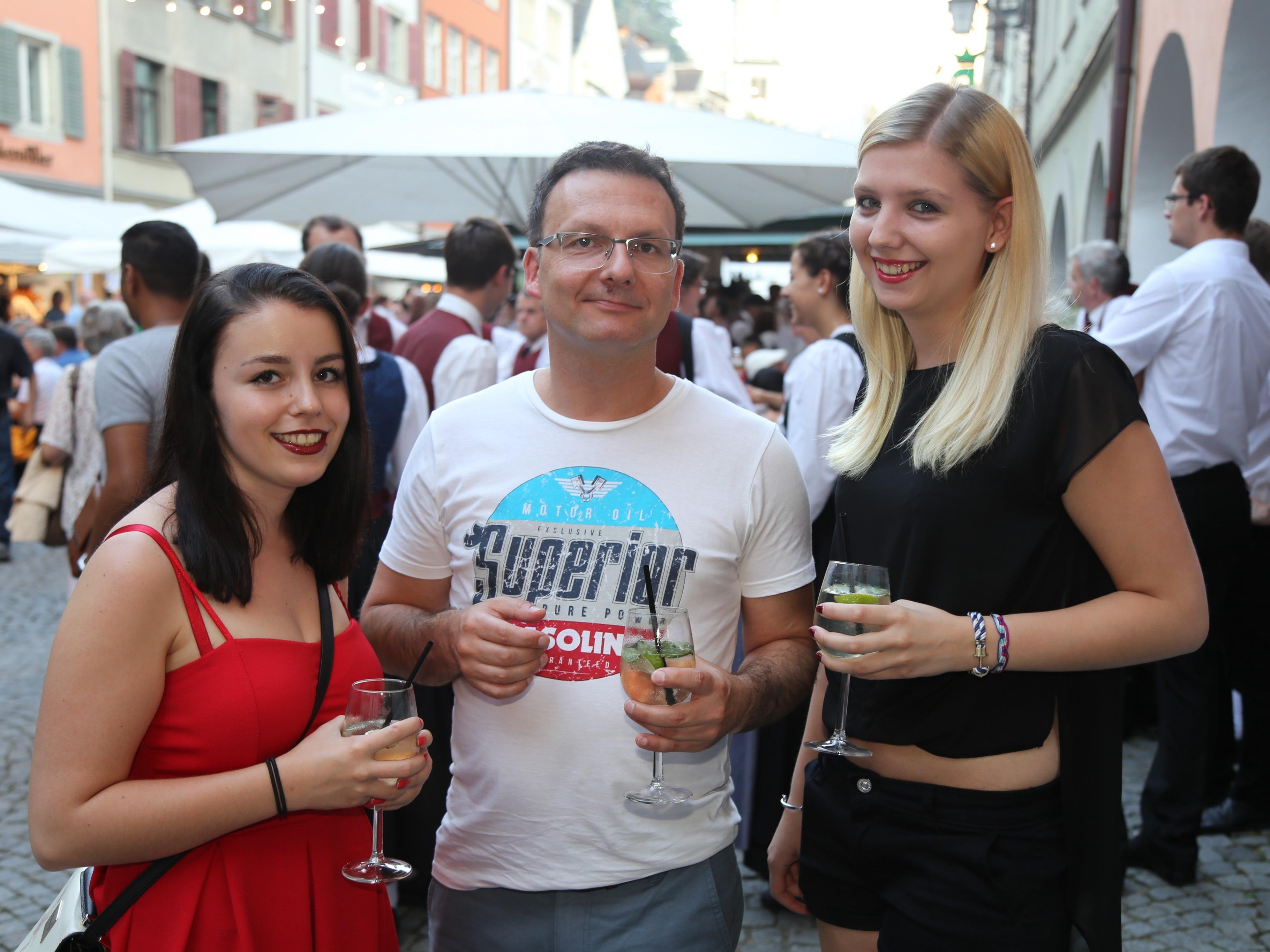 Über 20.000 Besucher kamen vergangenes Wochenende in die Feldkircher Innenstadt.