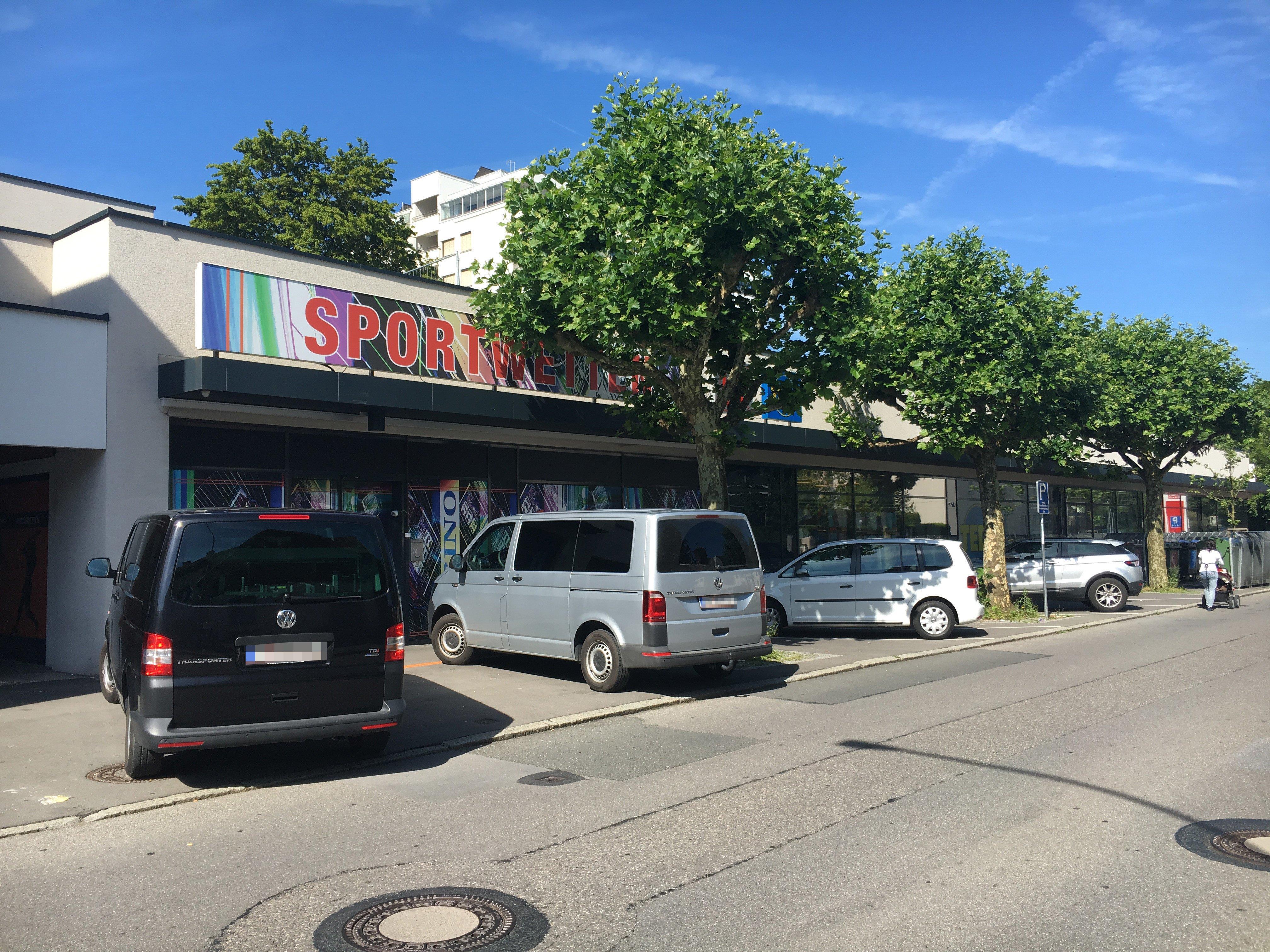 Das Wettbüro in der Mariahilferstraße wurde am Montagmorgen überfallen.