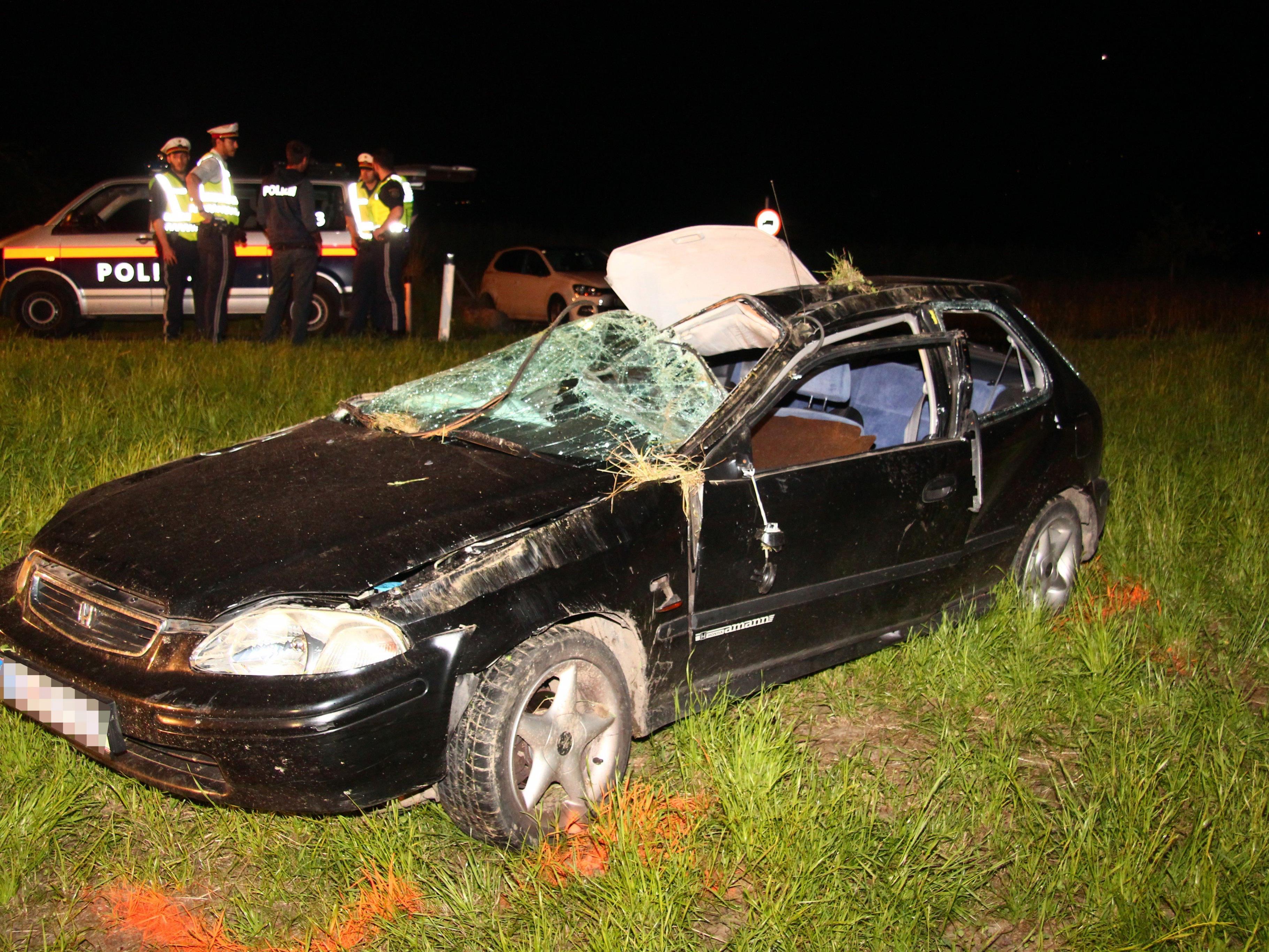 Am Wochenende dürfte mindestens ein Unfall durch illegale Straßenrennen verursacht worden sein.