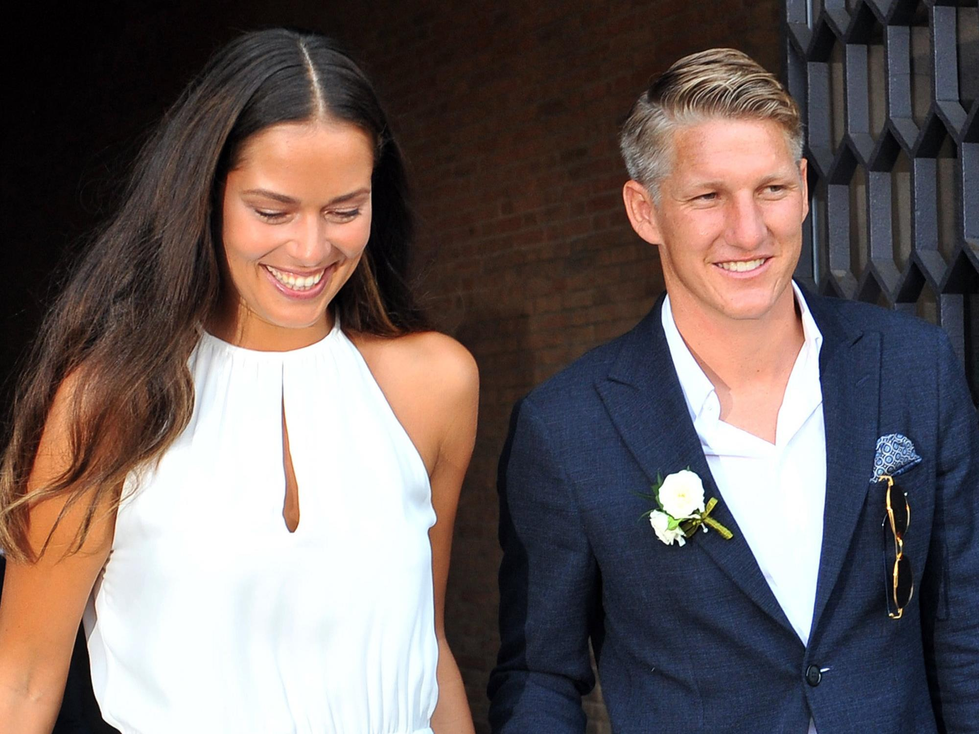 Das Sportler-Paar heiratete auch kirchlich in Venedig.