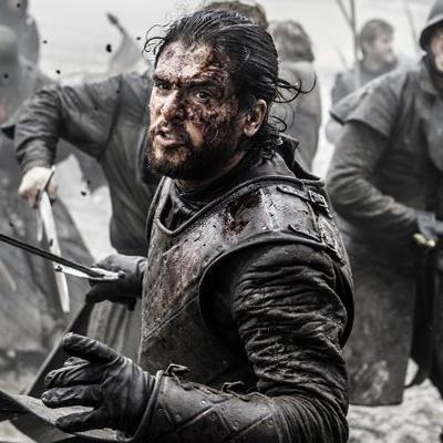 Jon Snow in einer Szene des Serien-Hits Game of Thrones.
