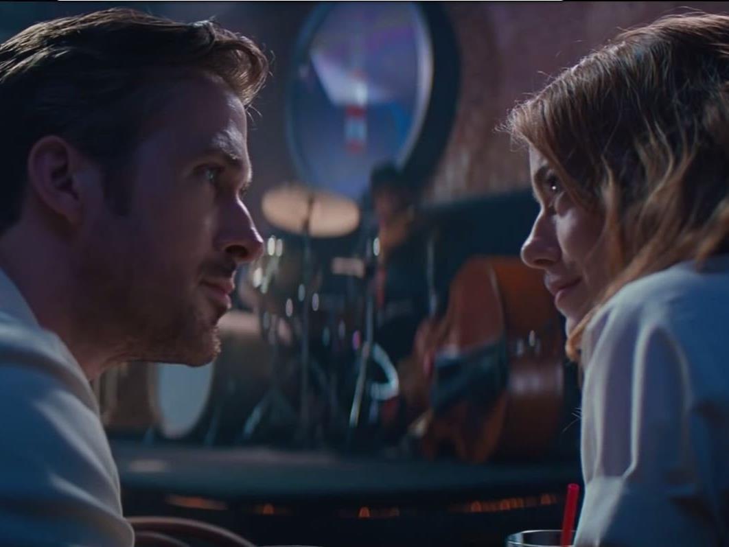 """Ryan Gosling und Emma Stone im kommenden Musical """"La La Land"""""""
