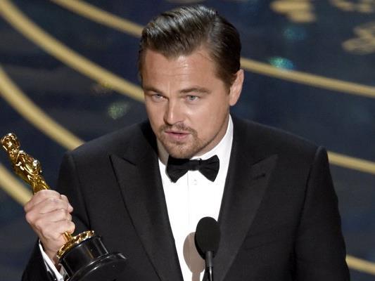 Bei seiner Oscar-Dankesrede im Februar sprach DiCaprio das Thema Umweltschutz eindringlich an.