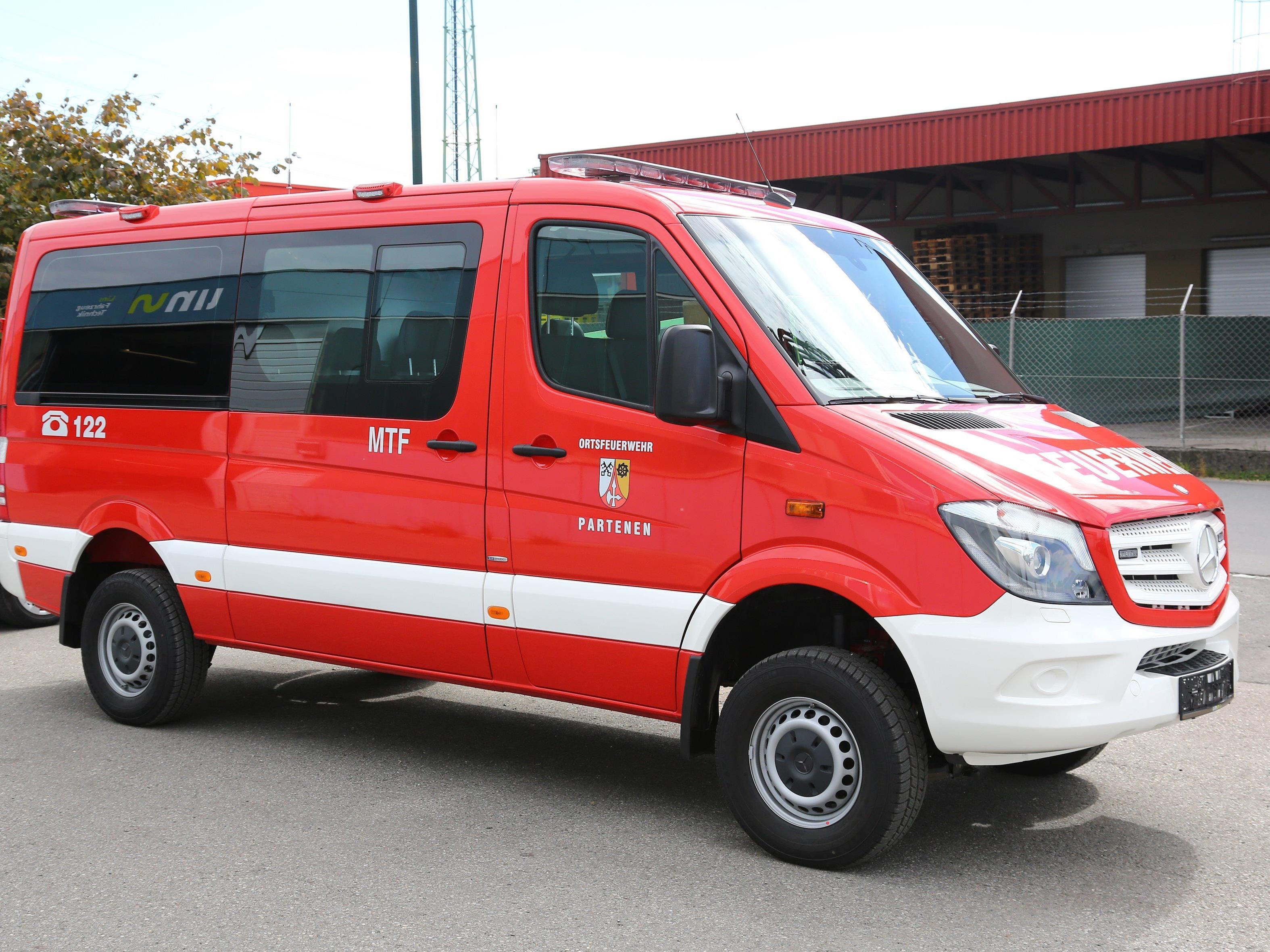 MTF - Feuerwehr Partenen