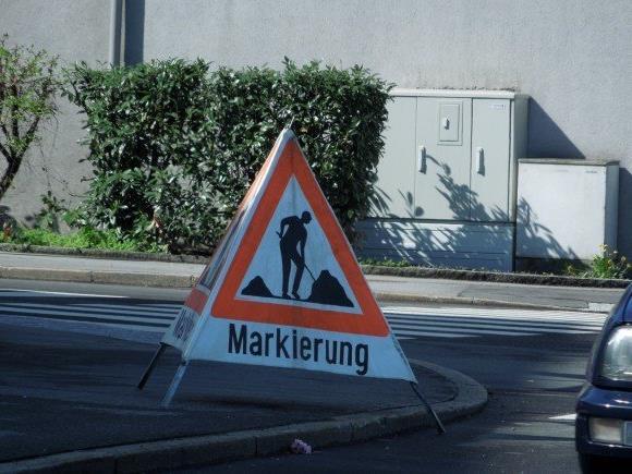 Markierungsarbeiten als Haustürgeschäft? Hier sollte man vorsichtig sein.