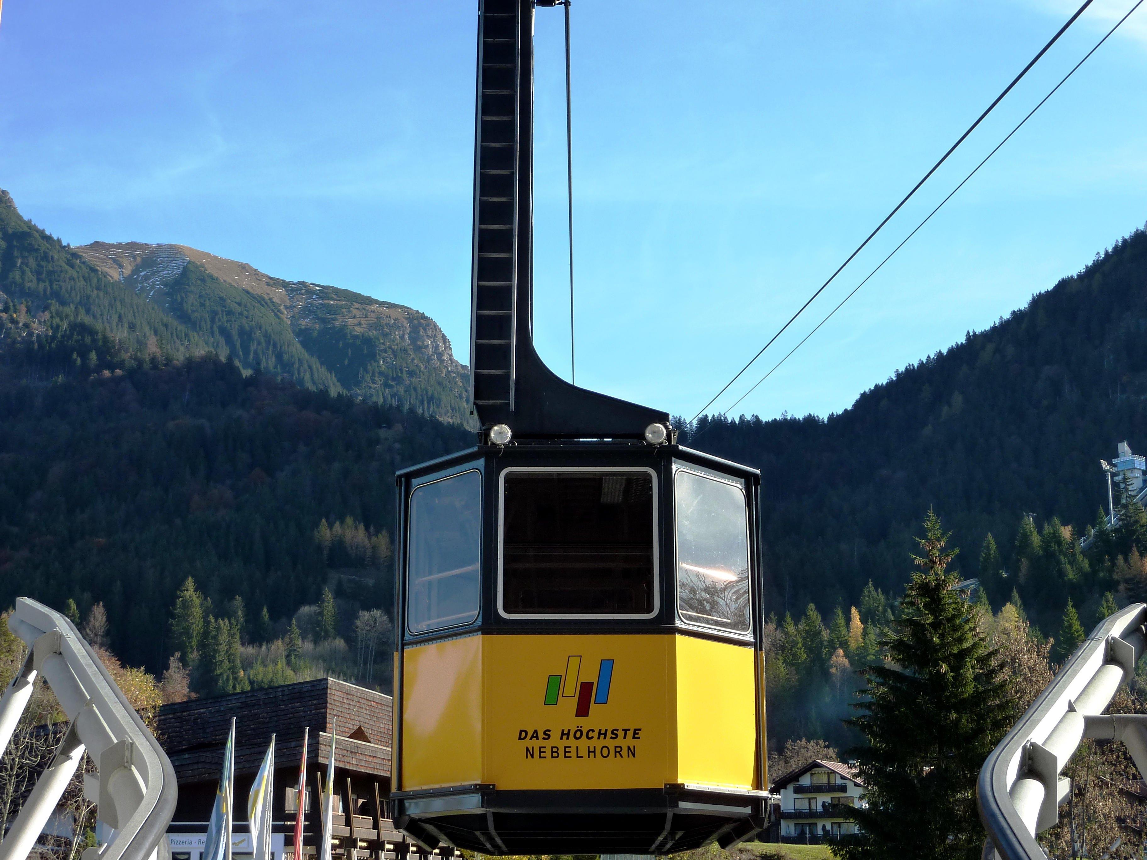 Die Nebelhornbahn geht am Freitag, 22.08.2016 gegen Mittag wieder in Betrieb.