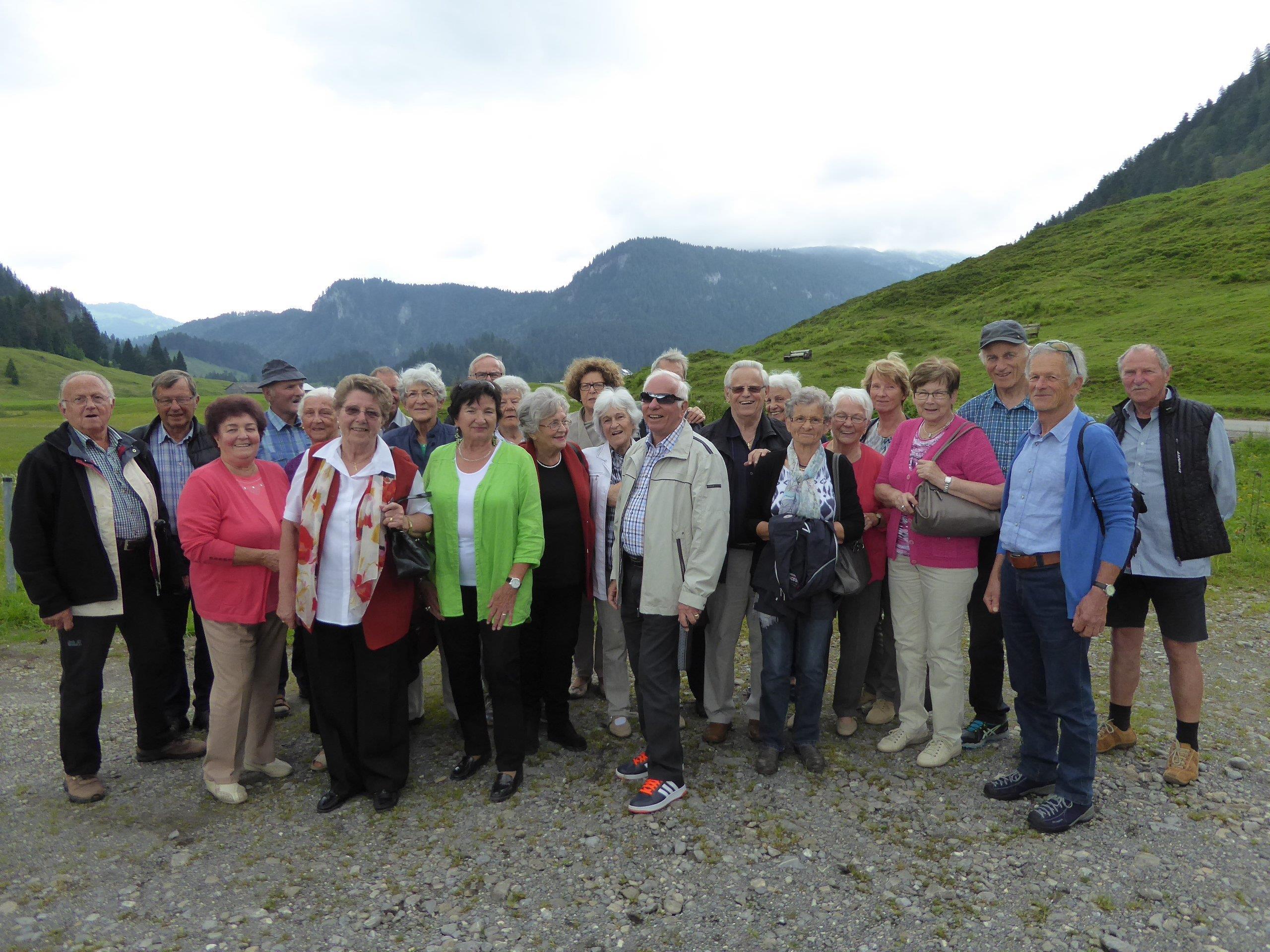 Jahrgänger 1ß38 in Schönenebach