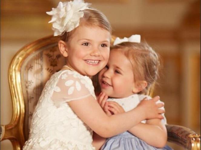 Die zwei Cousinen verstehen sich, Prinzessin Estelle und Leonore