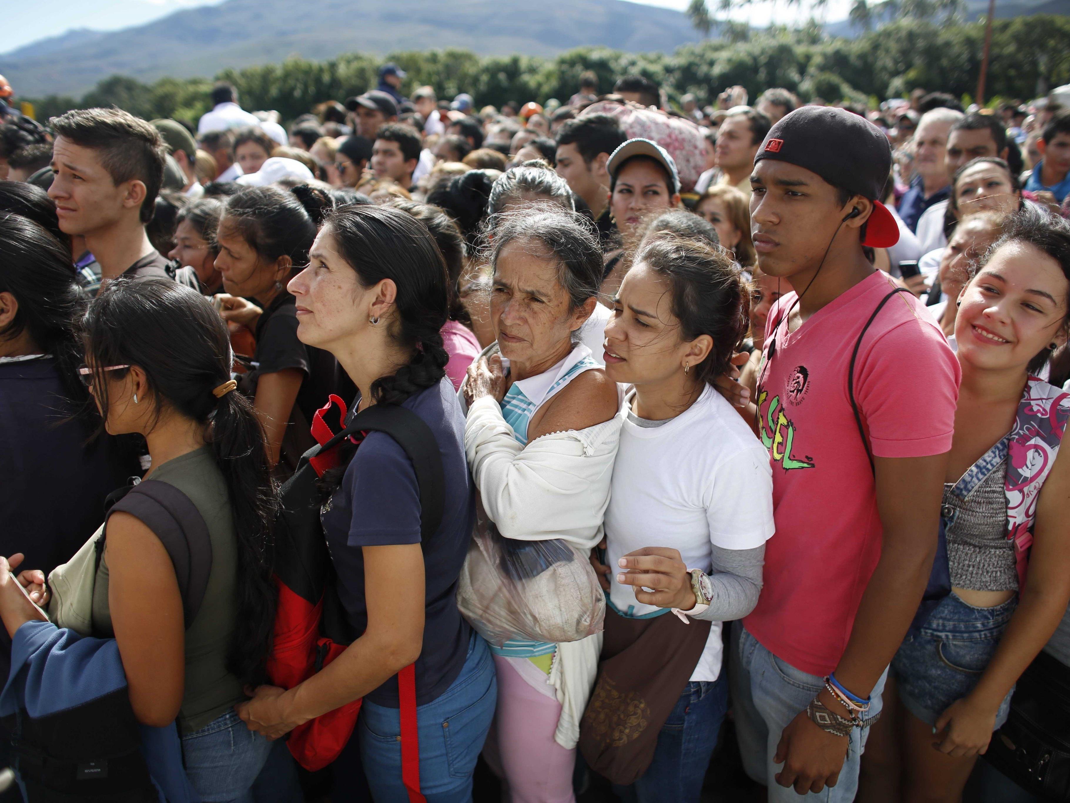 Kolumbien hatte seine Grenzen geöffnet, damit Venezolaner einkaufen konnten