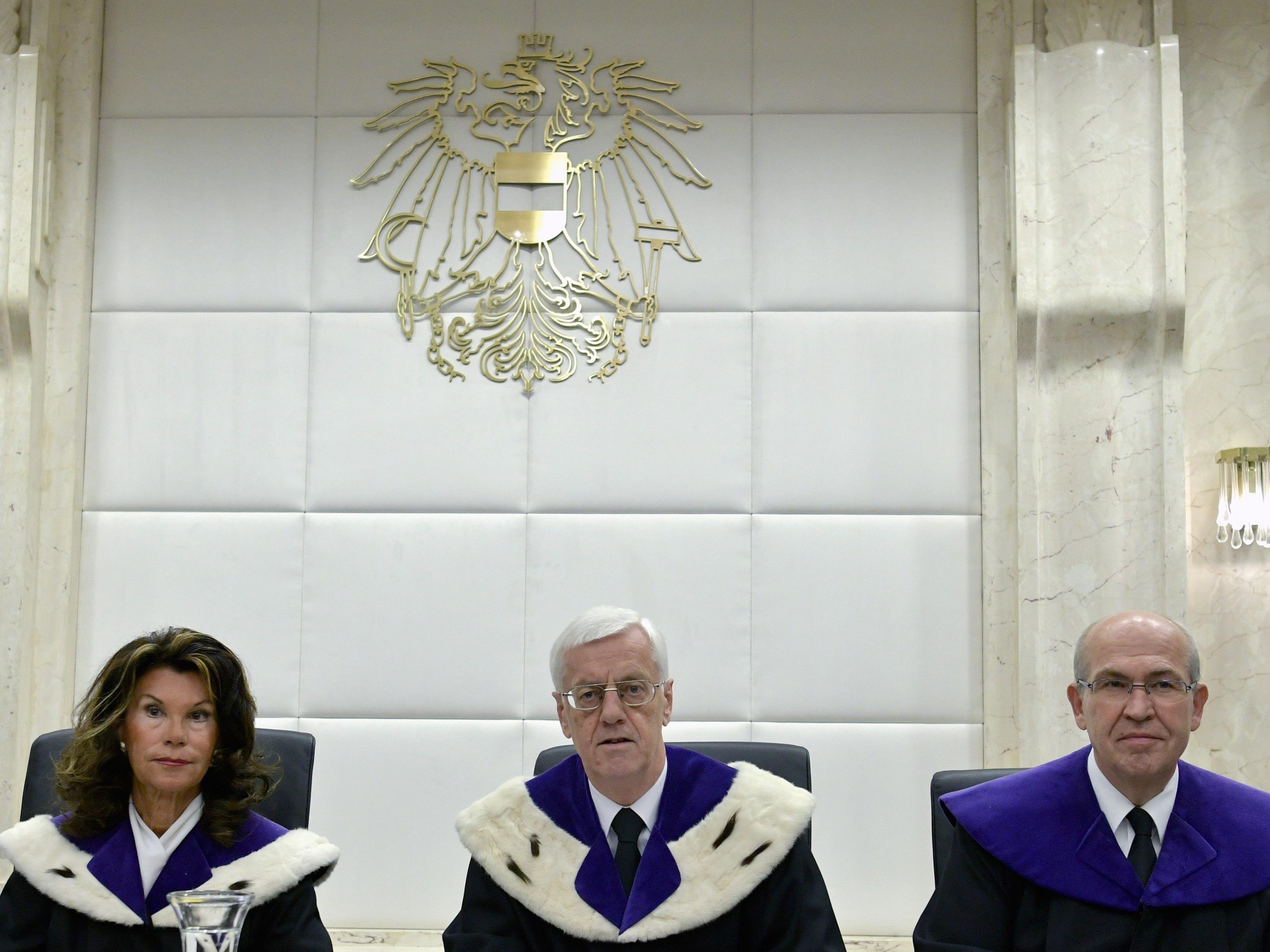 Der Verfassungsgerichtshof hat über die Anfechtung der BP-Stichwahl entschieden.