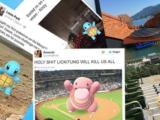 Pokemon lassen sich an den skurrilsten Orten finden.