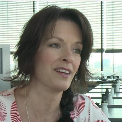Formel-1-Lady Tanja Bauer vor dem Grand Prix von Österreich im Sky-Talk.