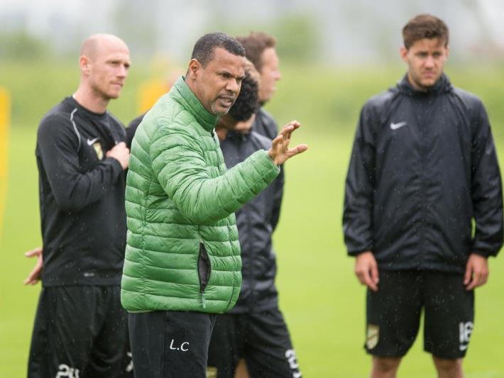 Trainer Lassad Chabbi möchte mit einem Sieg in die Saison starten