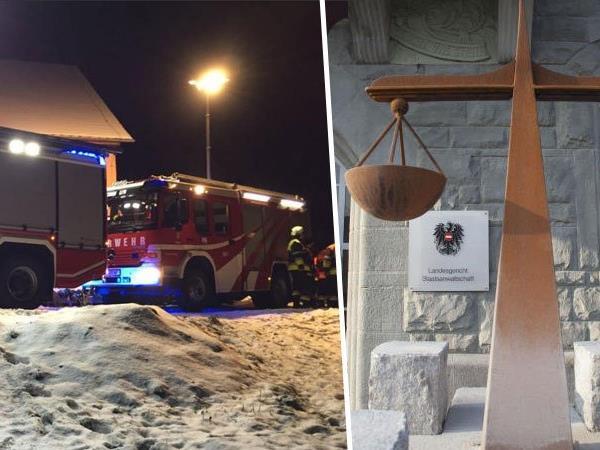 Kellnerin verursachte einen Feuerunfall