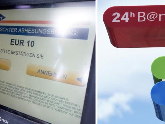 An den Euronet-Bankomaten werden fürs Geldabheben Spesen verrechnet