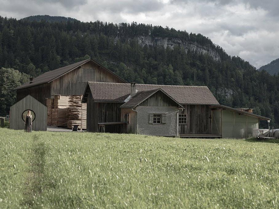 """Die """"Alte Säge"""" in Bezau: Viel natürlichen Raum für aktuelle Fragen bietet das FAQ Bregenzerwald"""