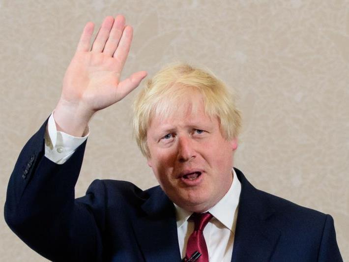 Brexit-Wortführer und Londoner Ex-Bürgermeister Boris Johnson warf das Handtuch