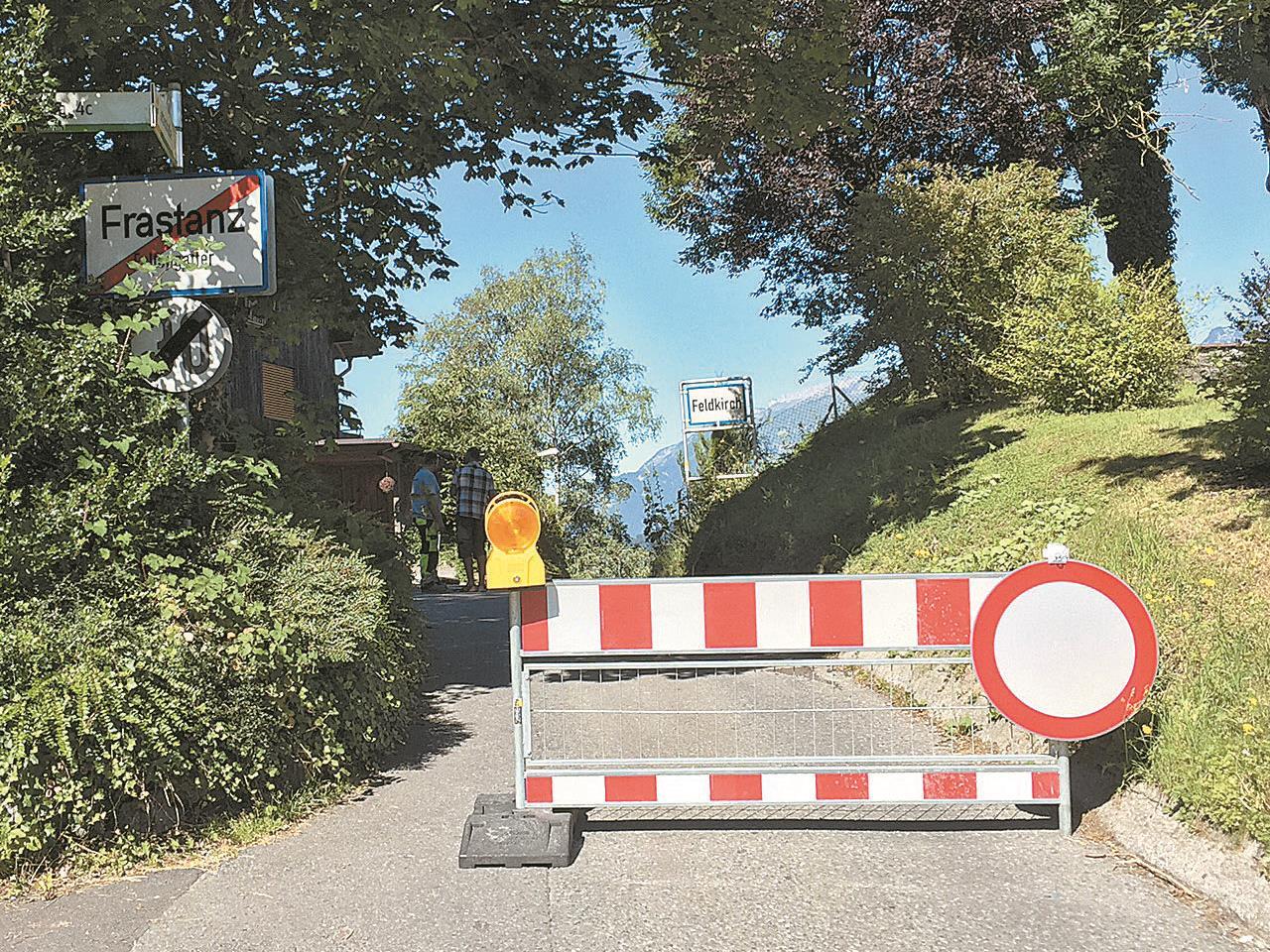 Bis voraussichtlich 5. August ist die Letzestraße für den gesamten Fahrzeugverkehr gesperrt.