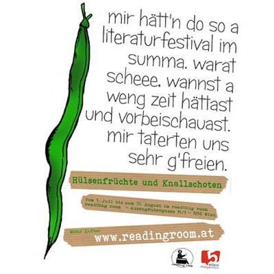 """Der Verein """"read!!ing room"""" lädt zum diesjährigen Literatur-Fest in Margareten"""