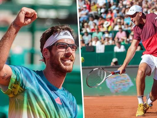 Jürgen Melzer besiegt sensationell den Weltranglisten-Neunten Dominik Thiem beim ATP-Turnier in Kitzbühl.