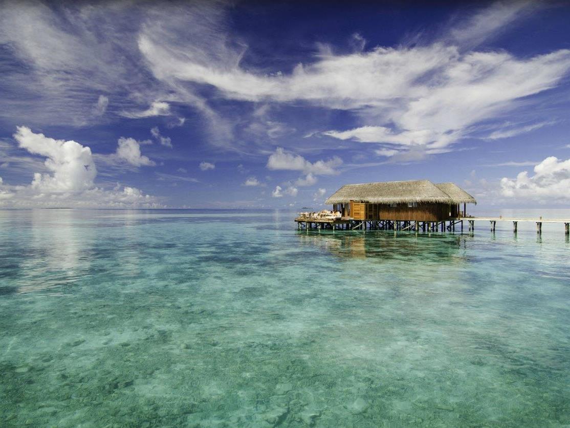 Das Mirihi Island Resort wurde von Trip Advisor zu einem der besten Hotels der Welt gekürt