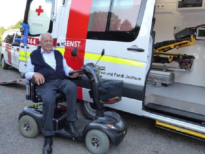 Siegfried Jochum tätigt großzügige Spende