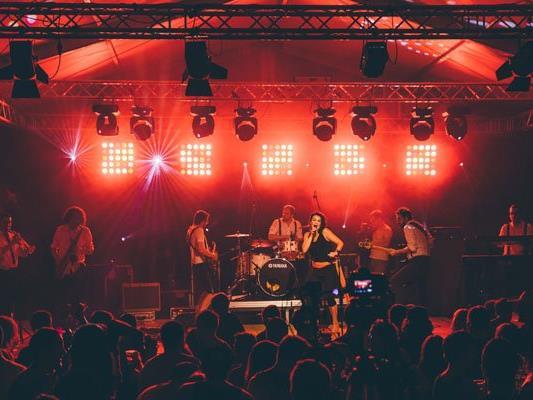 """SoulSanity live beim Jazzfestival """"Jazz & Groove"""" am Freitag, 29. Juli."""