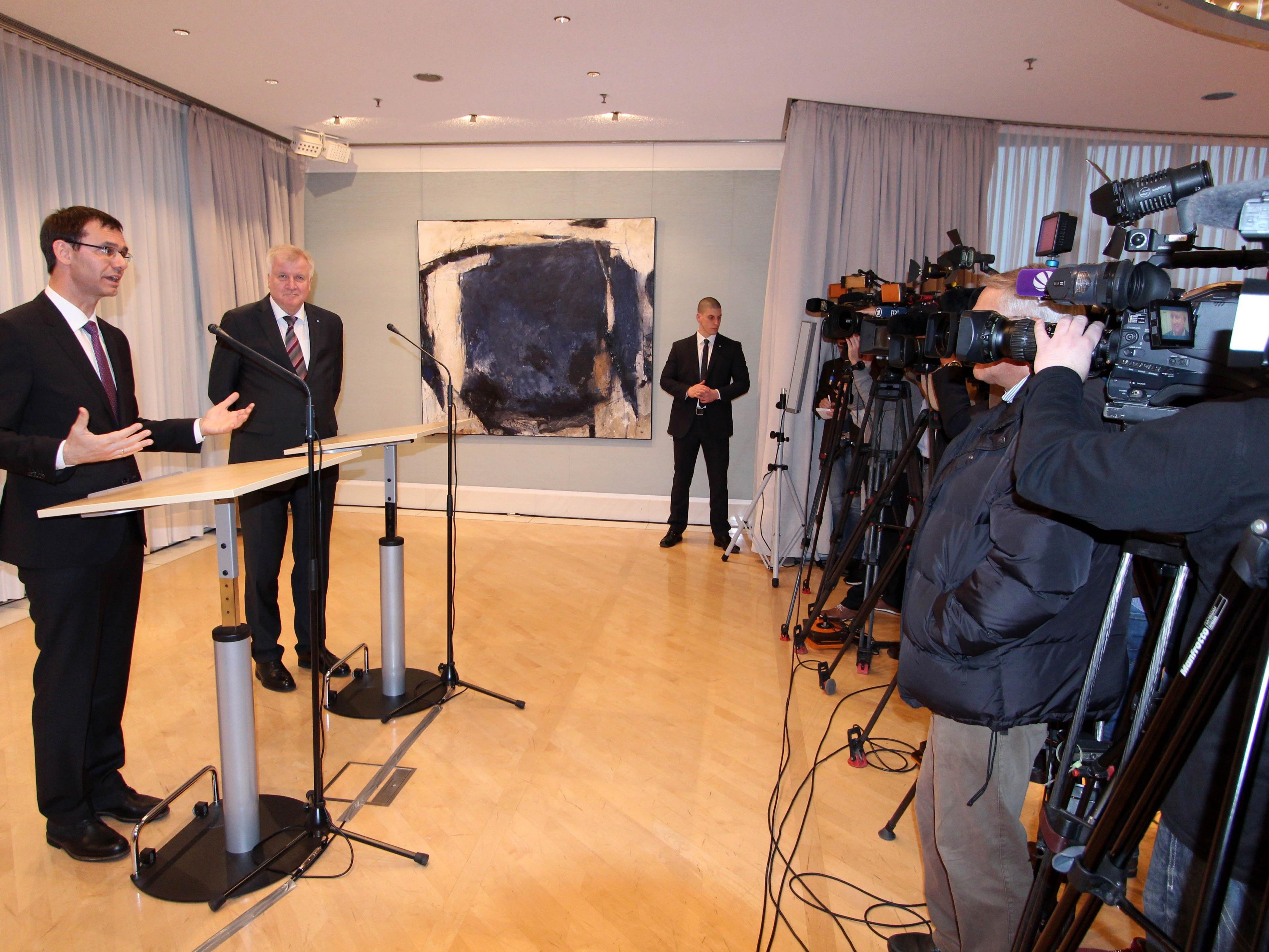 Im Februar dieses Jahres besuchte LH Wallner Bayerns Ministerpräsident Horst Seehofer.