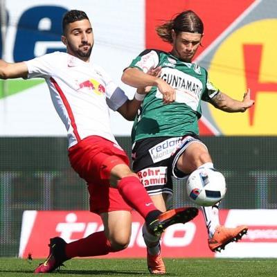 Salzburg knöpfte Ried drei Punkte ab