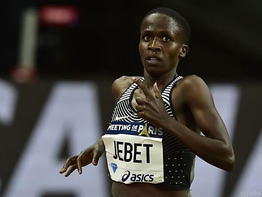 Ruth Jebet unterbot acht Jahre alte Bestmarke über 3.000 m Hindernis