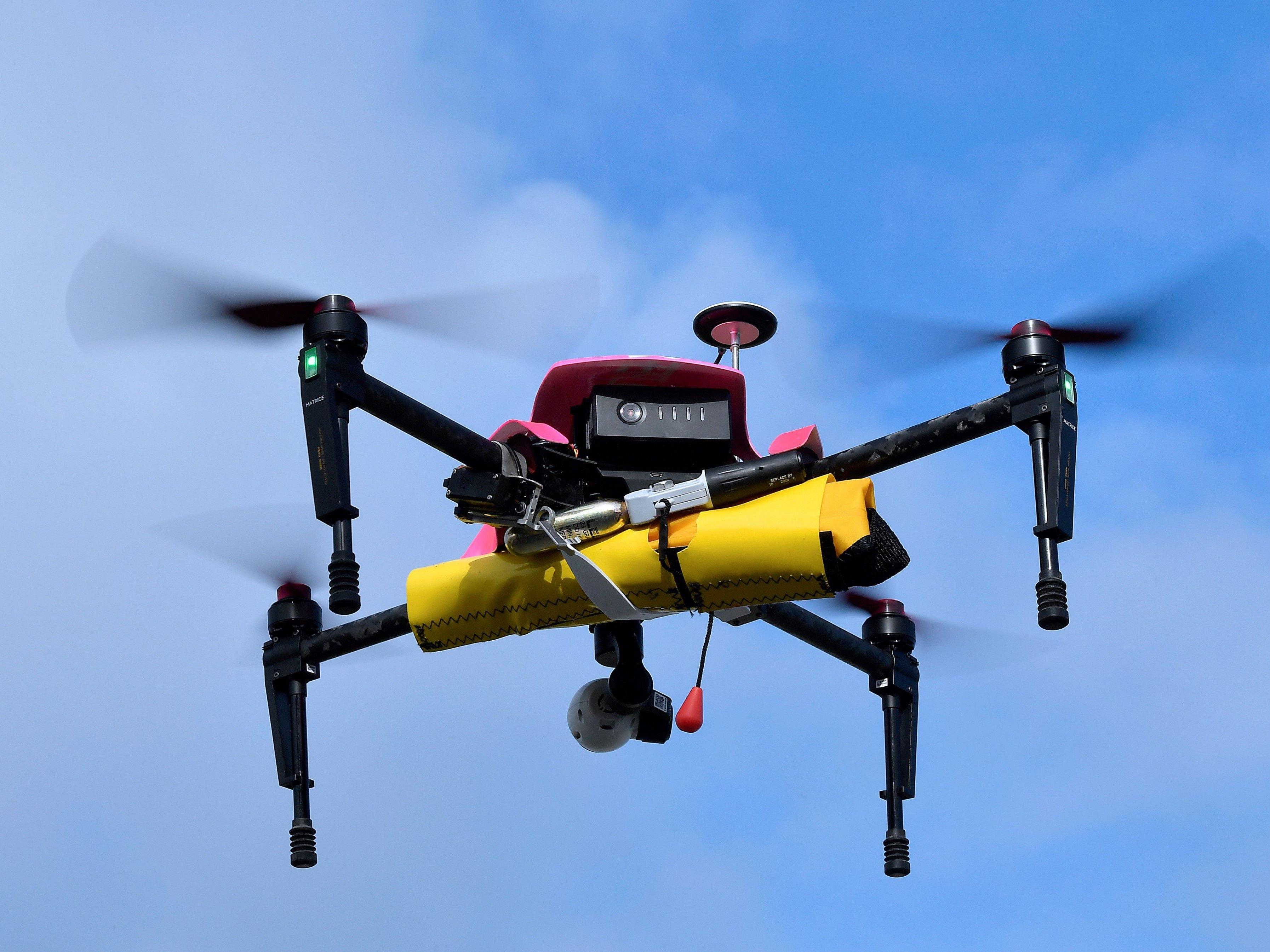 Mit Kamera-Drohnen eröffnen sich völlig neue Blickwinkel auf die Welt (Symbolbild).