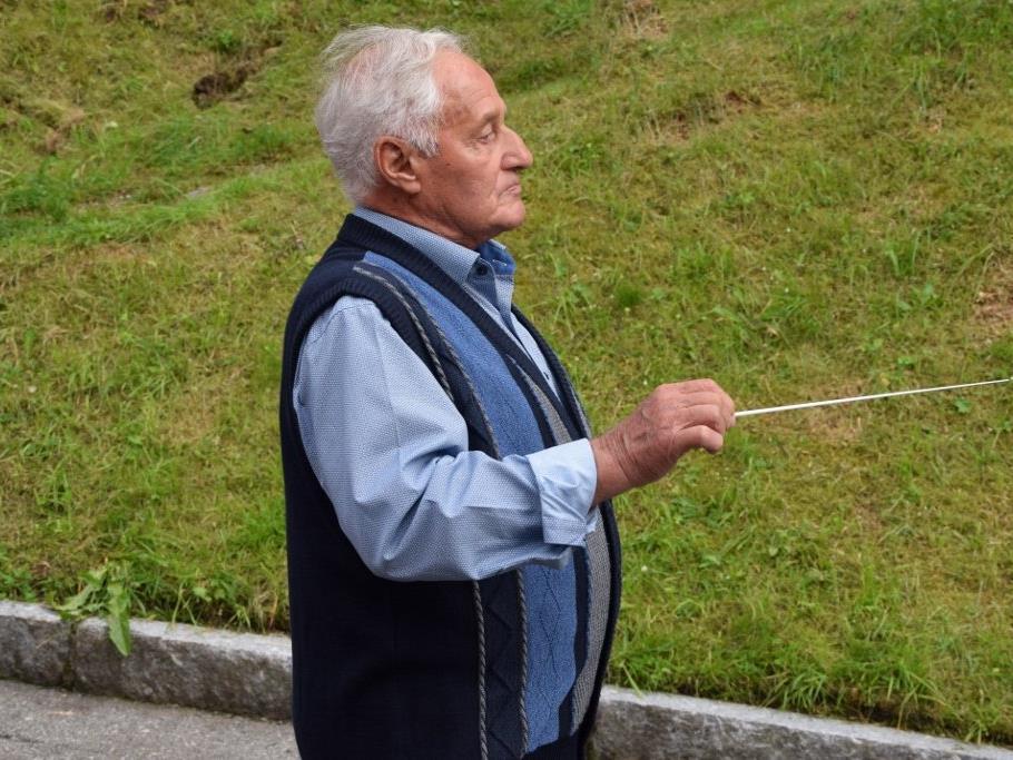 Ehrenkapellmeister Rudolf Sauerwein feierte den 90. Geburtstag