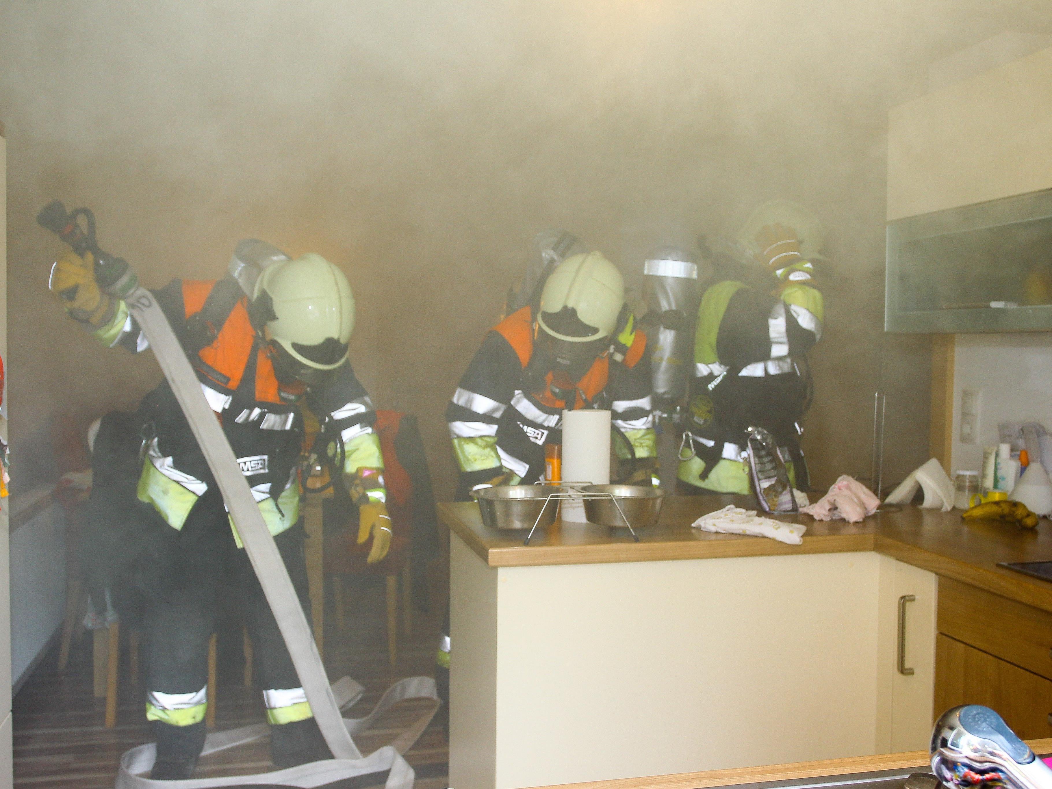 Brand konnte schnell unter Kontrolle gebracht werden.