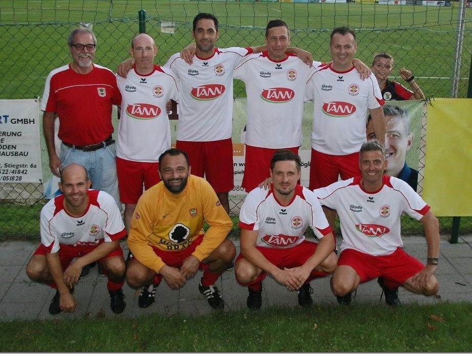 FC Dornbirn gewann Rankweiler Altherren Turnier