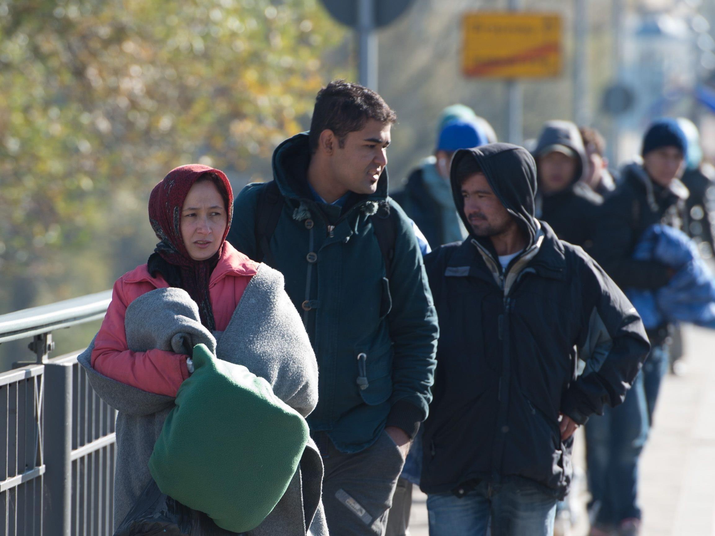 Rund die Hälfte der im Jahr 2015 nach Vorarlberg zugewanderten Personen kamen aus Drittstaaten.