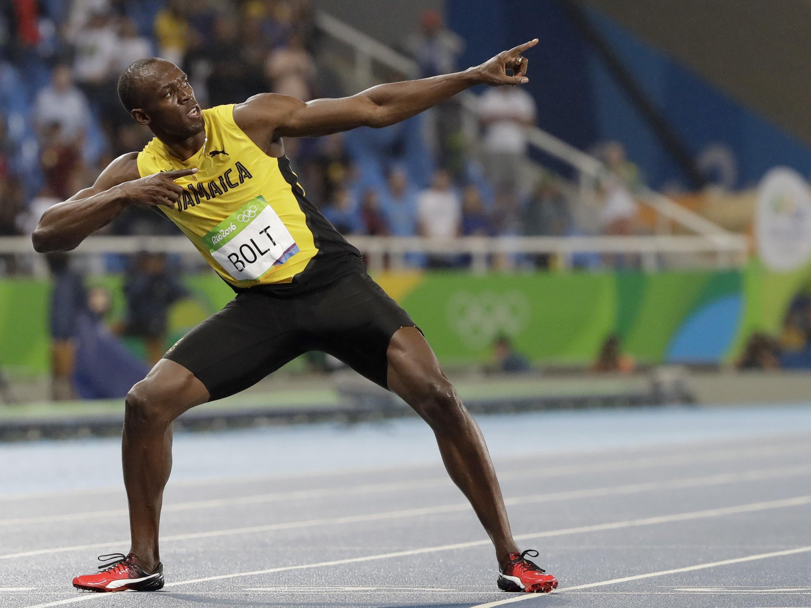 Usain Bolt hat am Donnerstag bei den Olympischen Spielen in Rio de Janeiro auch den Sieg über 200 m fixiert und sein insgesamt achtes Olympia-Gold errungen.