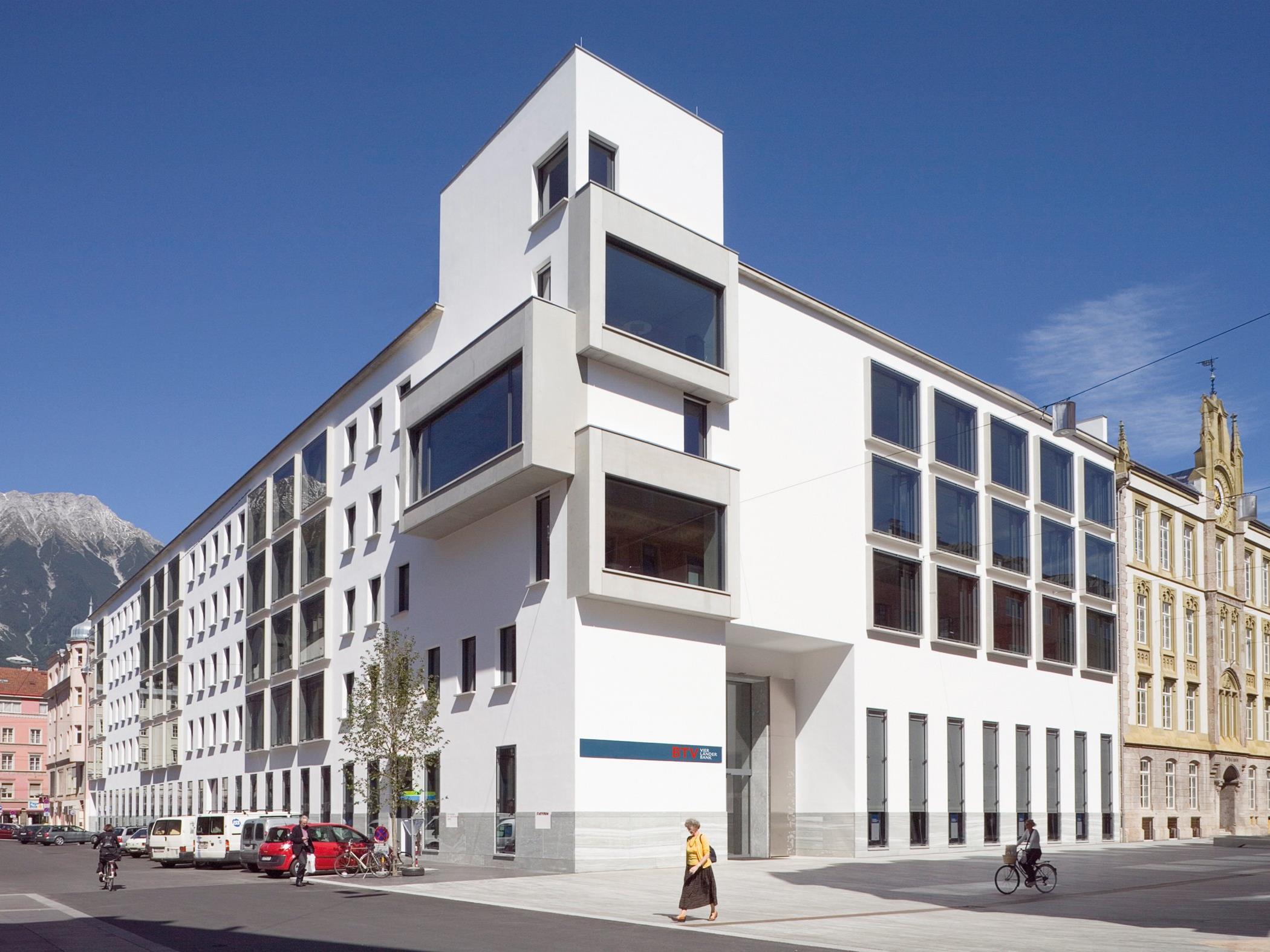 Die zur 3-Banken-Gruppe gehörende Bank für Tirol und Vorarlberg AG (BTV) hat im ersten Halbjahr 2016 im Vergleich zur Vorjahresperiode einen Rückgang des Gewinnes verzeichnet.