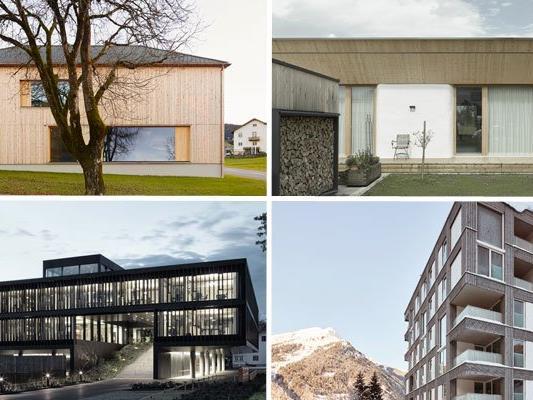 Vier Projekte sind für den Bauherrenpreis Österreich 2016 nominiert.