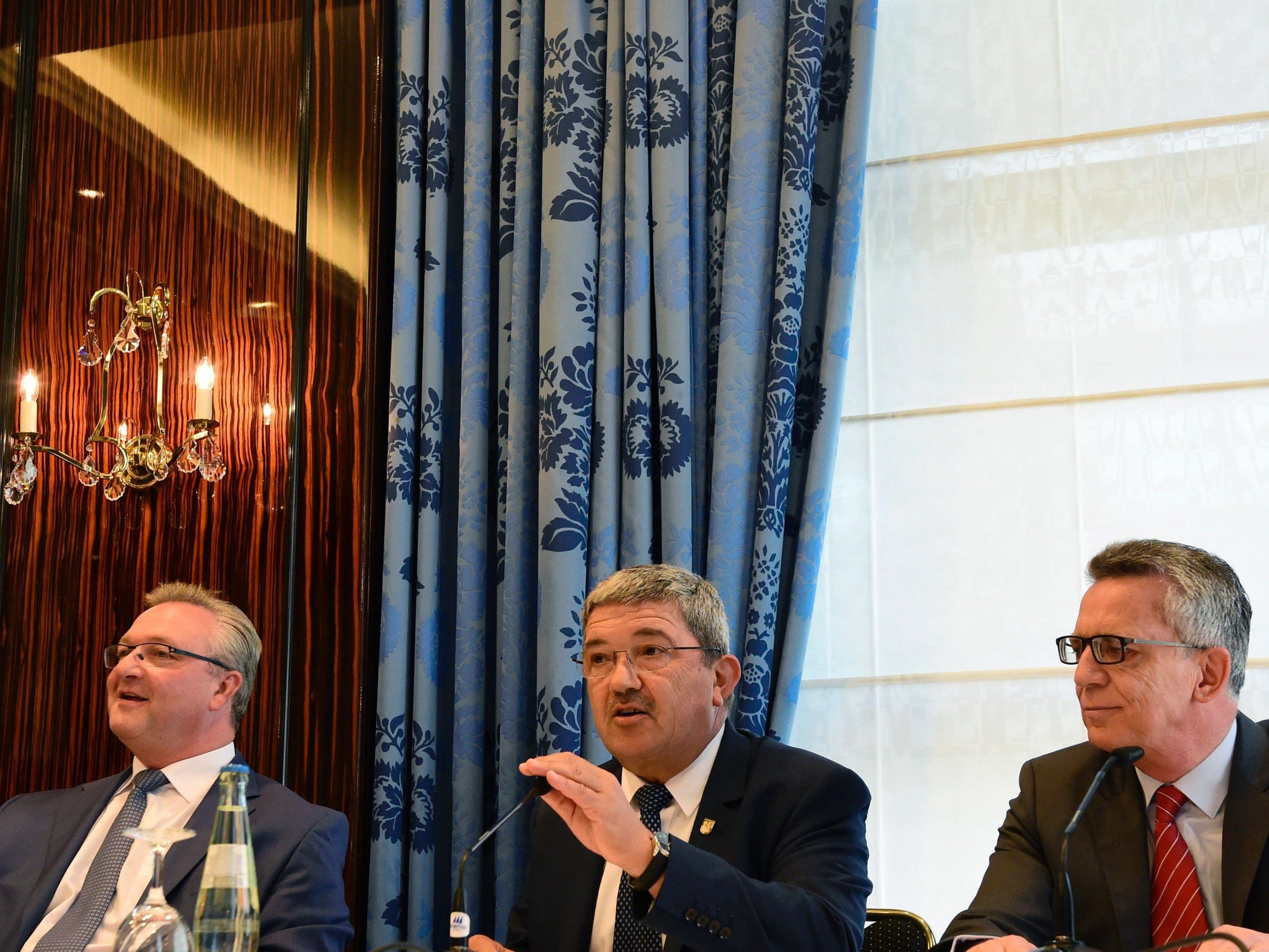 Die CDU-Minister bei einem Treffen in Berlin