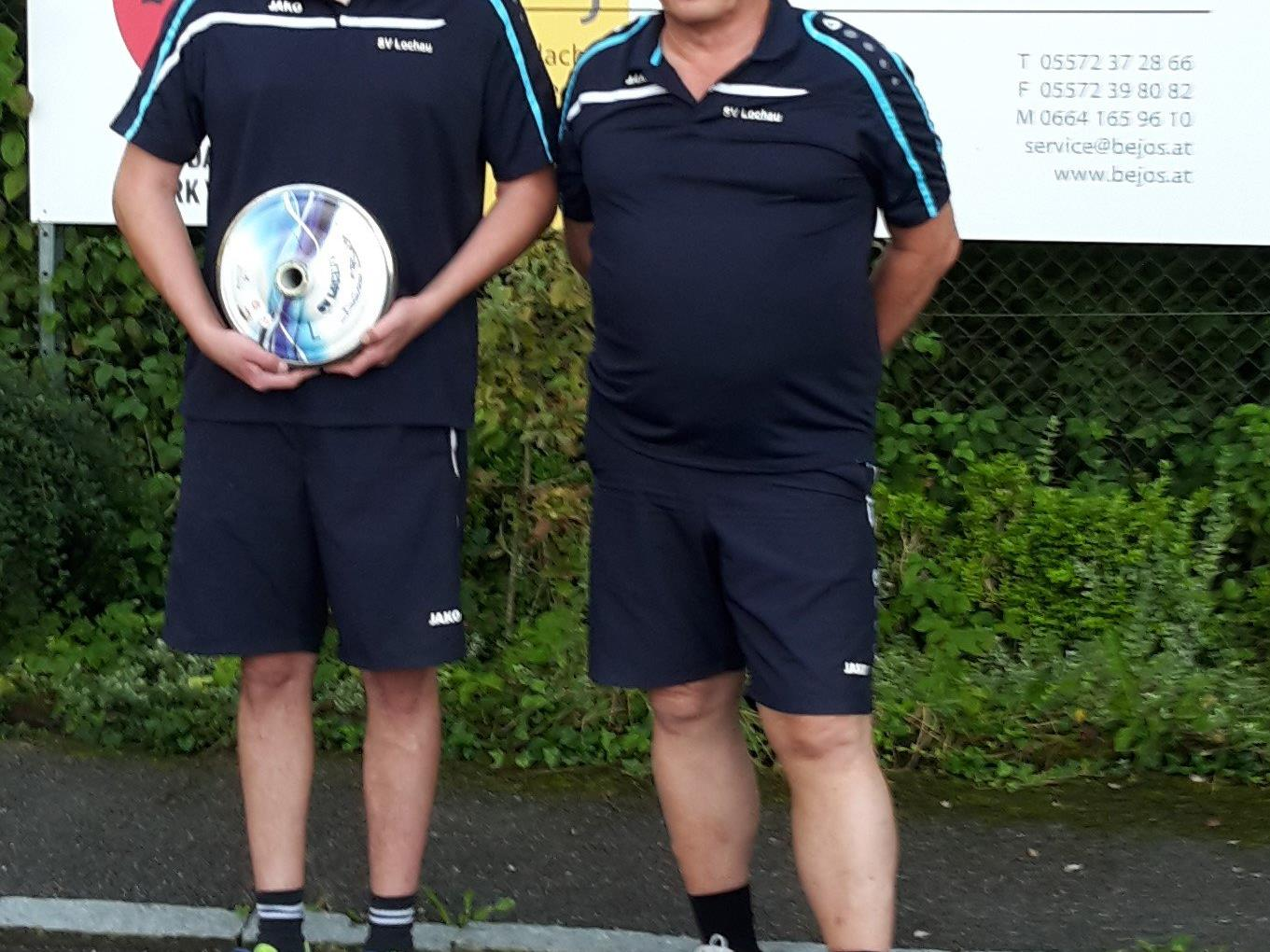 Das erfolgreiche Duo Patrik und Wilfried