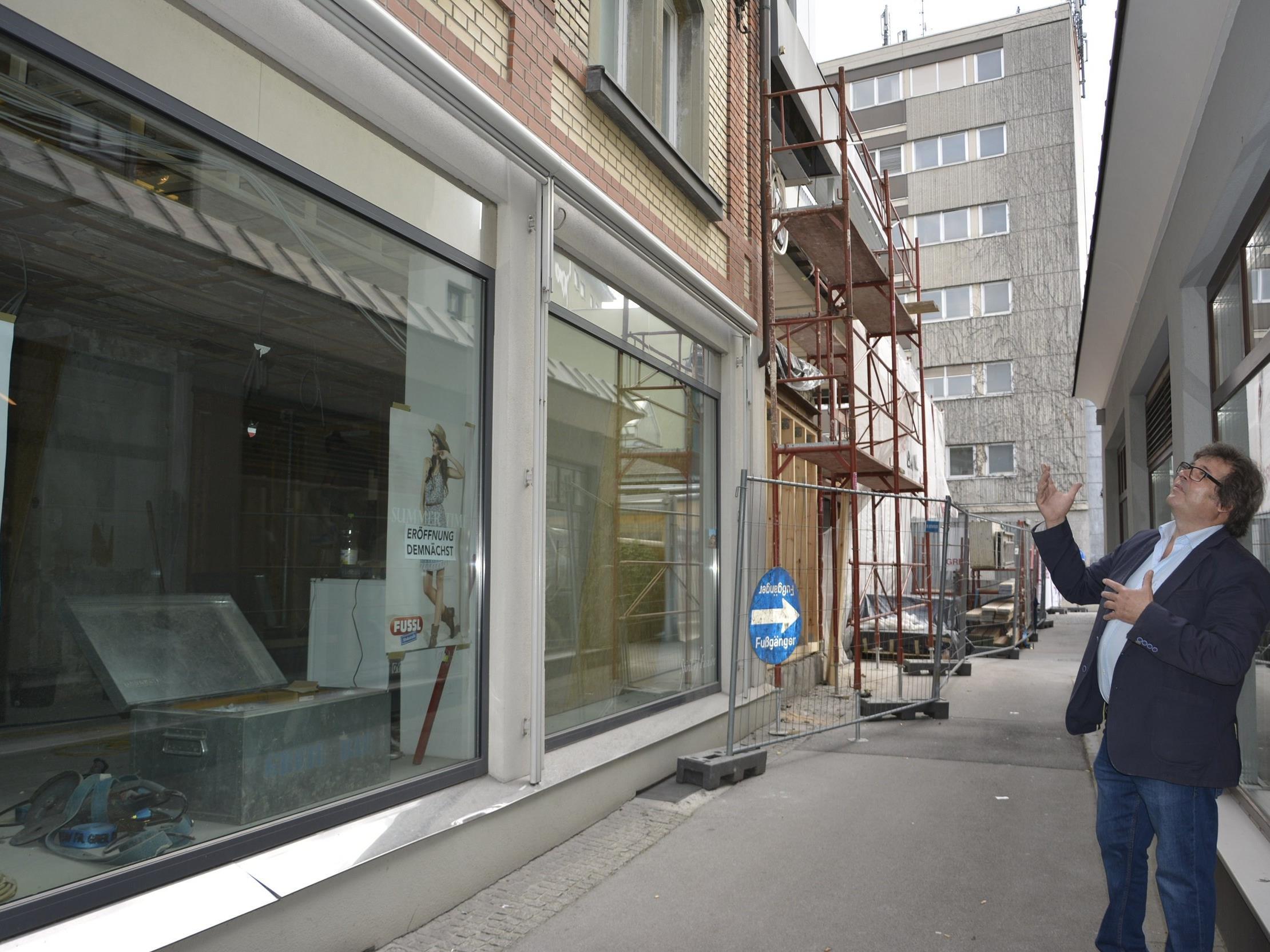 Das Emi-Schenk-Gebäude wird komplett saniert.