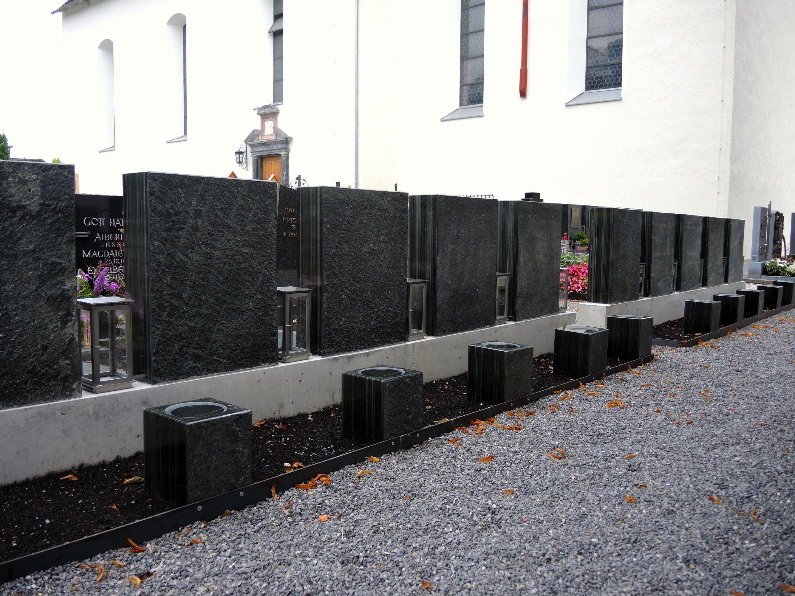 Harmonische Erweiterung der Urnengräber