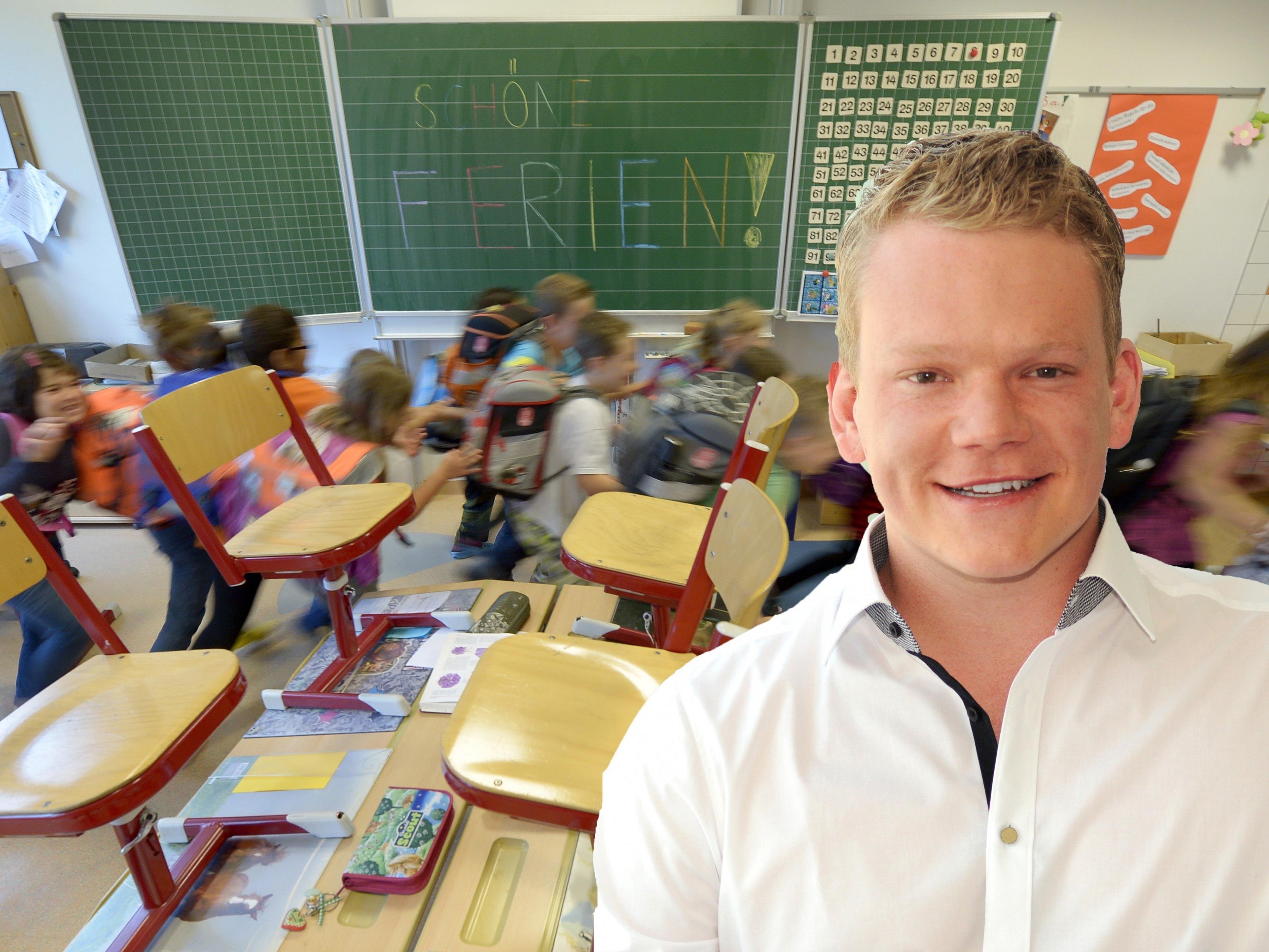 FPÖ-Jugendsprecher Christof Bitschi