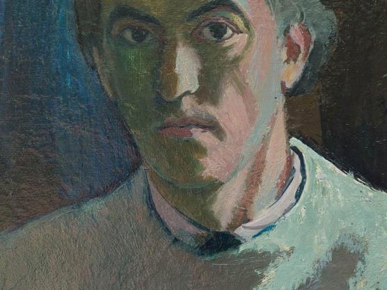 Hubert Fritz, Selbstbildnis