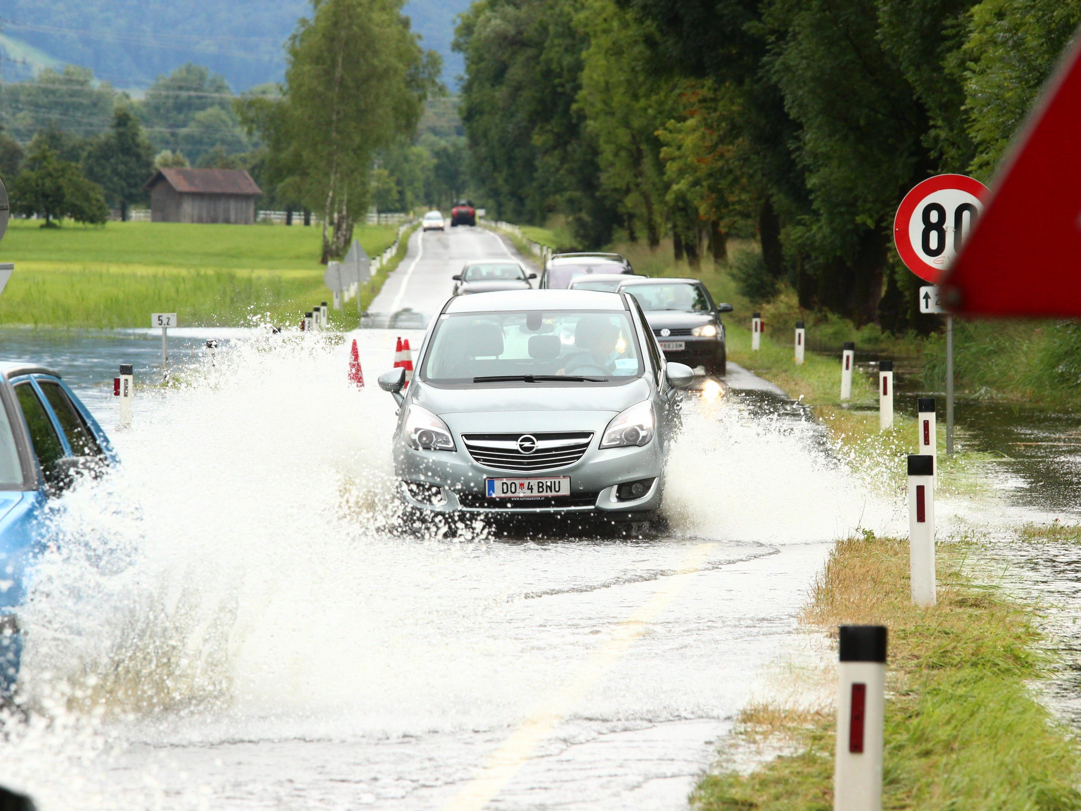 Dornbirn: Stadt mit höchstem Niederschlag in Österreich.