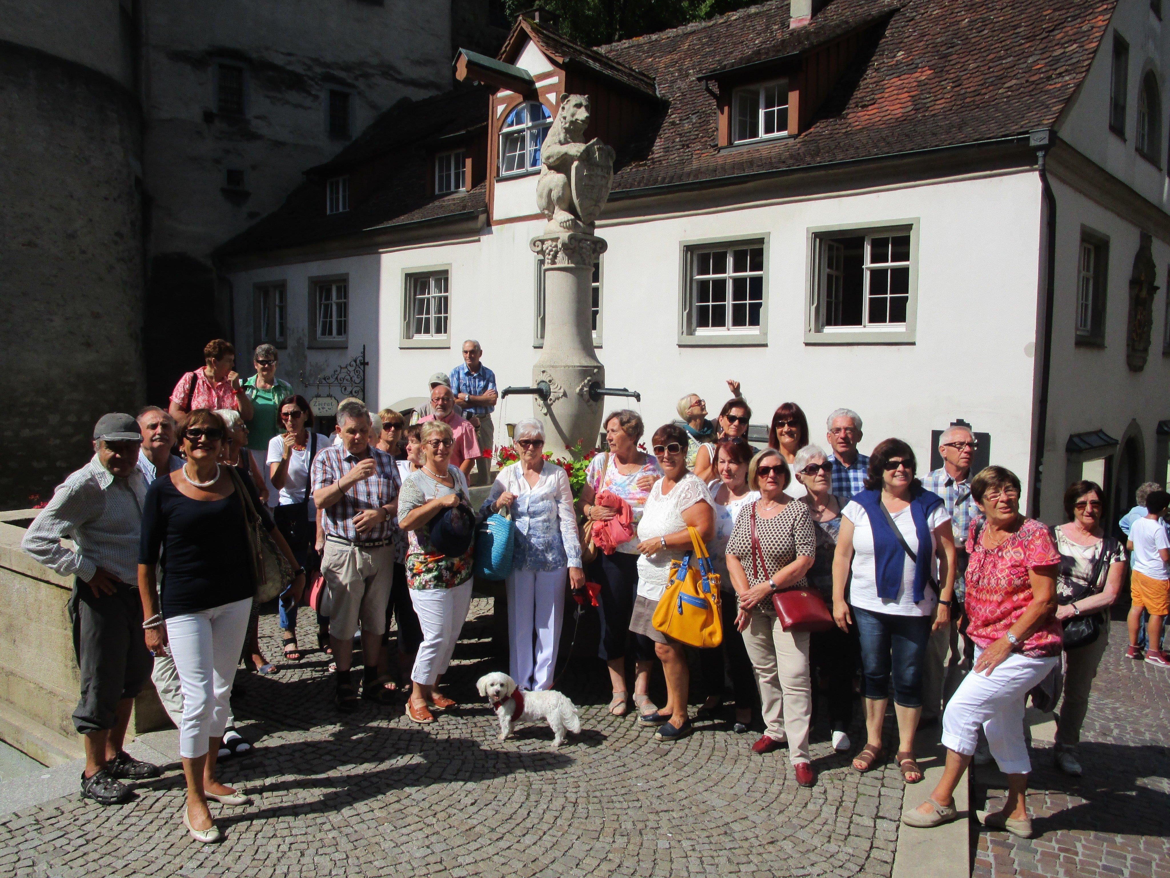 """Seniorenringler"" in Meersburg"