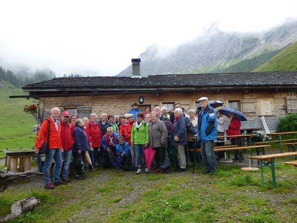 PVÖ Lauterach besucht Alpe Steris